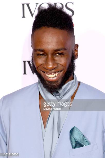 Kojey Radical attends The Ivors 2019 at Grosvenor House on May 23, 2019 in London, England.