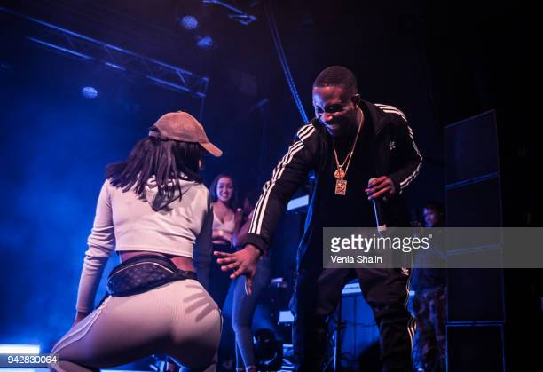 Kojo Funds performs at Electric Brixton on April 5 2018 in London England