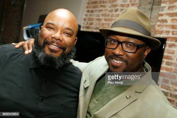 Kokayi President The Recording Academy DC Chapter and Jeriel Johnson Executive Director The Recording Academy DC Chapter attend the Vocal Health...