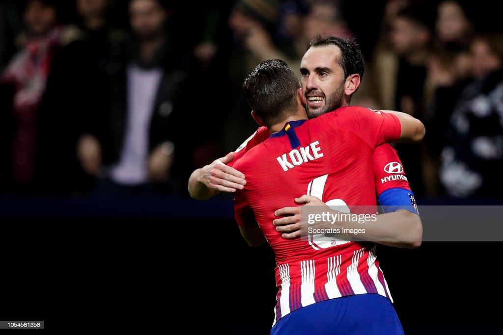 Atletico Madrid v Real Sociedad - La Liga Santander : News Photo