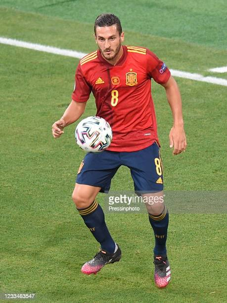 Koke Resurreccion of Spain during the match between Spain and Sweden of Euro 2020, group E, matchday 1, played at La Cartuja Stadium on June 14, 2021...