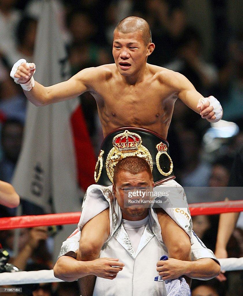 WBA Light Flyweight Title Fight : News Photo