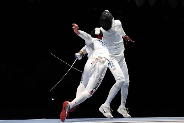 JPN: Fencing - Olympics: Day 7