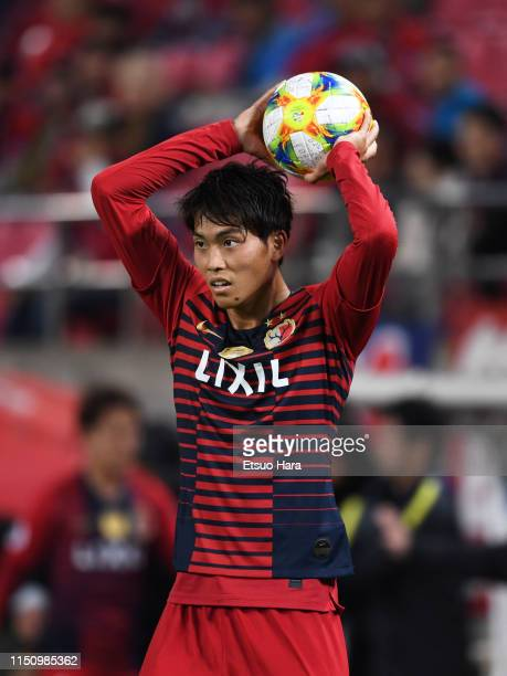 Koki Machida of Kashima Antlers in action during the AFC Champions League Group E match between Kashima Antlers and Shandong Luneng at Kashima Soccer...