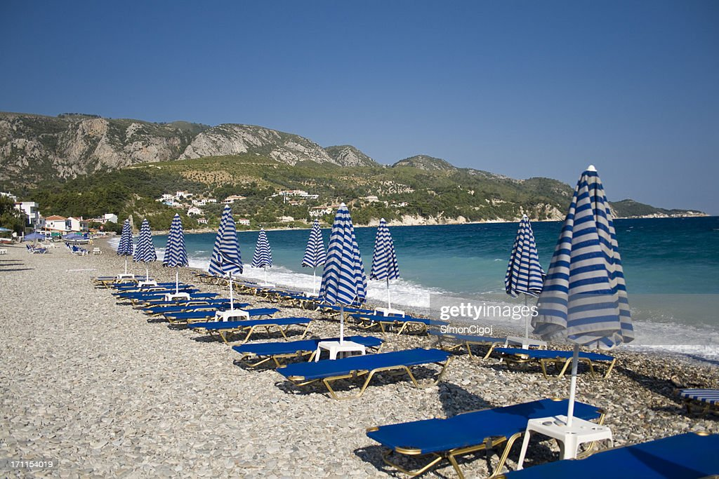 Kokkari beach : Stock Photo