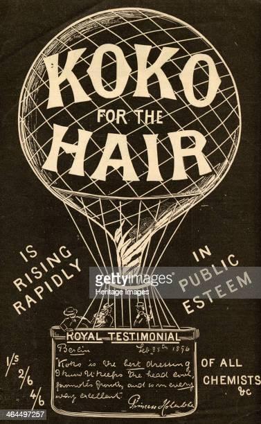 Koko for the Hair 'Is Rising Rapidly in Public Esteem', The Koko-Maricopas Co. Ltd., London, 1896.