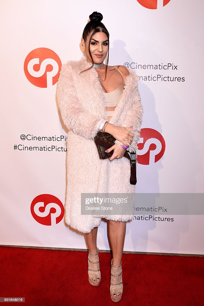 Koko Laroo attends the Rachele Royale Single and Music Video Release for 'Circus Life' at Cinematic Pictures Gallery on January 13, 2017 in Hollywood, California.