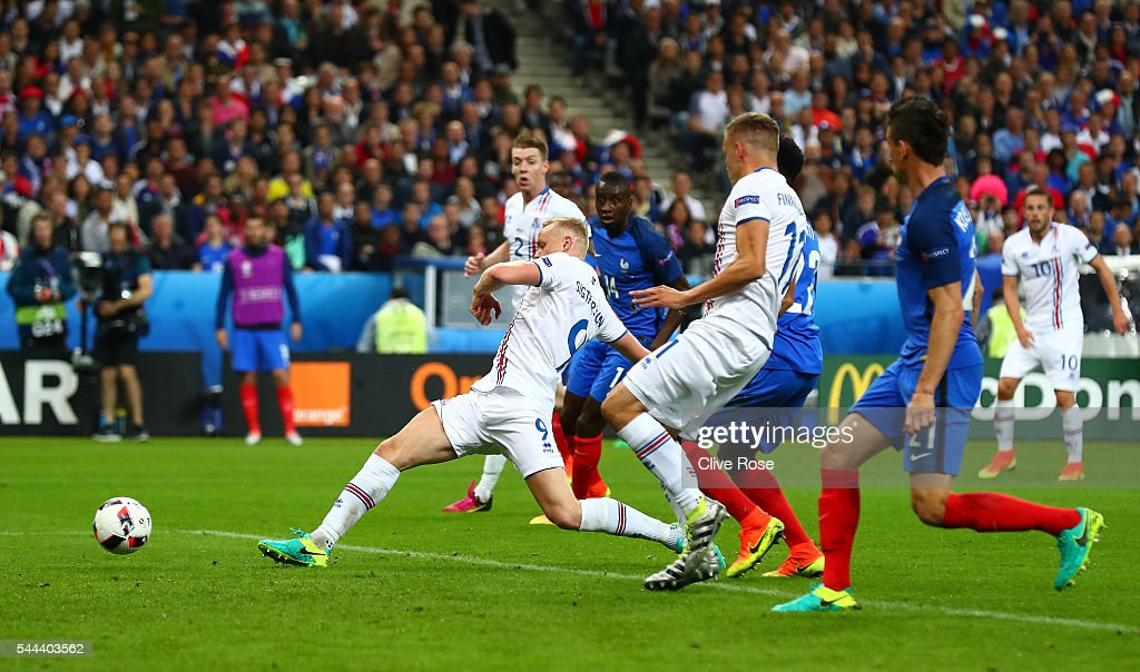 France v Iceland - Quarter Final: UEFA Euro 2016 : News Photo