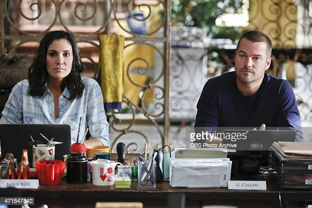 Kolcheck A Pictured Daniela Ruah and Chris O'Donnell Callen and Sam search for answers when they find dead crew members from the missing oil tanker...