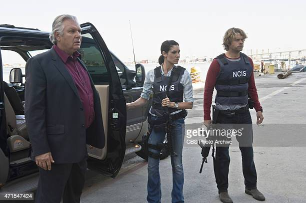 Kolcheck A Pictured Vyto Ruginis Daniela Ruah and Eric Christian Olsen Callen and Sam search for answers when they find dead crew members from the...