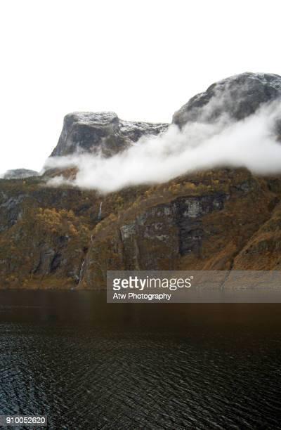 Koldnafossen I Waterfall, Aurlandsfjord