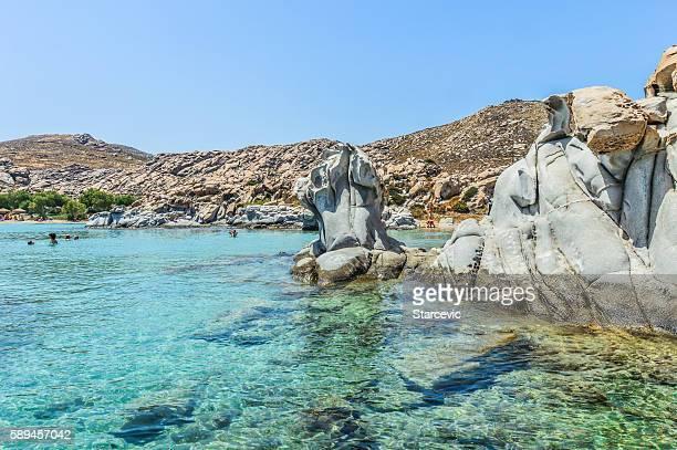 Kolimbithres - Famous beach of Paros, Greece