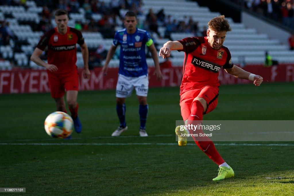 AUT: FC Flyeralarm Admira v TSV Prolactal Hartberg - tipico Bundesliga