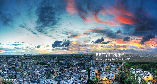 Kolkata at sunset