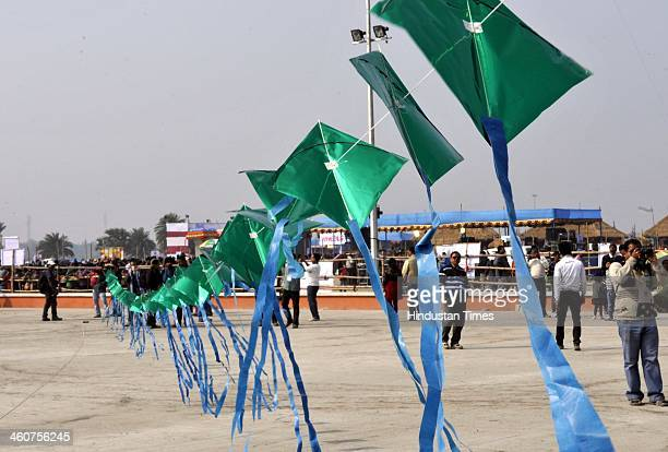 Kolkata hosts Vokatta International Kite Festival in NewTown on January 5 2014 in Kolkata India Vokatta is the biggest organised kite festival in...