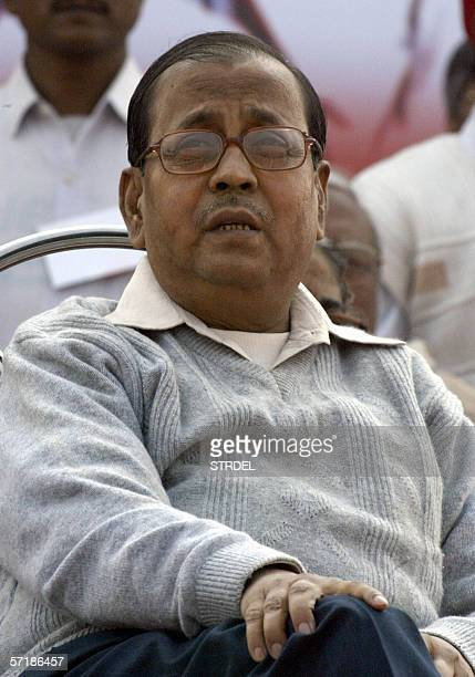 An undated photograph shows Anil Biswas Communist Party of India politburo member who suffered a massive brain haemorrhage recently and died at the...
