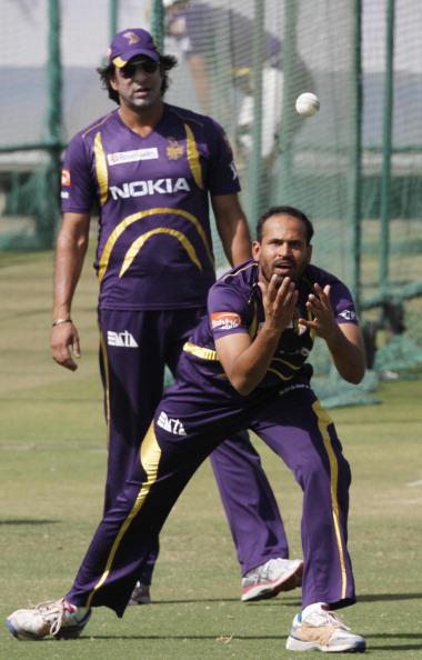 Kolkata Knight Riders Practice Session : News Photo