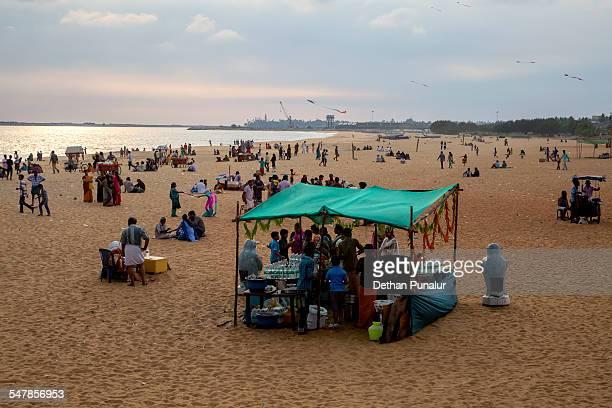 Kollam Beach, Kerala