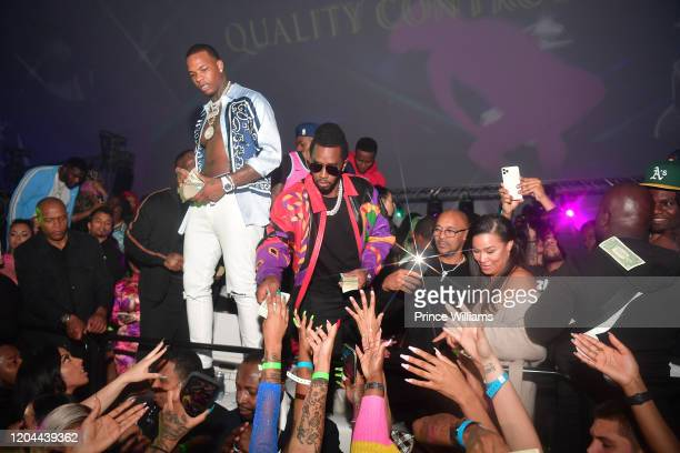 Kollision and Sean Combs attend the Million Dollar Bowl at The Dome Miami on February 3 2020 in Miami Florida