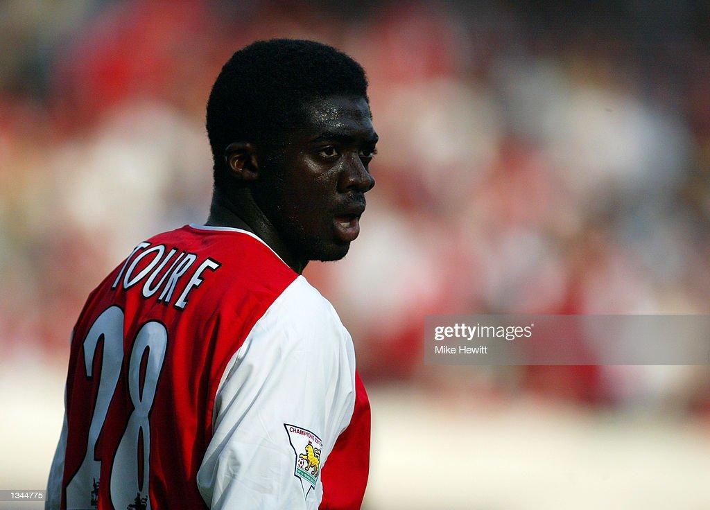 Kolo Toure of Arsenal : News Photo