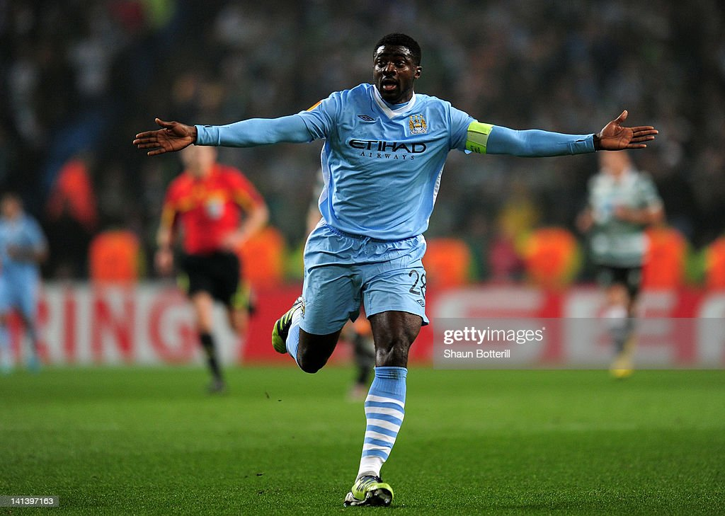 Manchester City FC v Sporting Lisbon - UEFA Europa League Round of 16 : News Photo