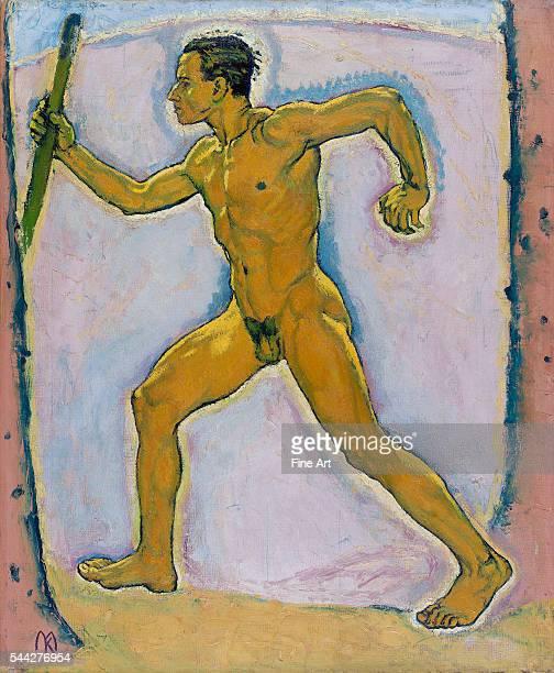 Koloman Moser The Wayfarer oil on canvas c 1914 755 x 624 cm Leopold Museum Vienna Austria