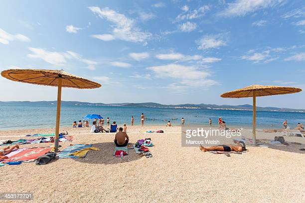 Kolovare Beach in Zadar, Croatia