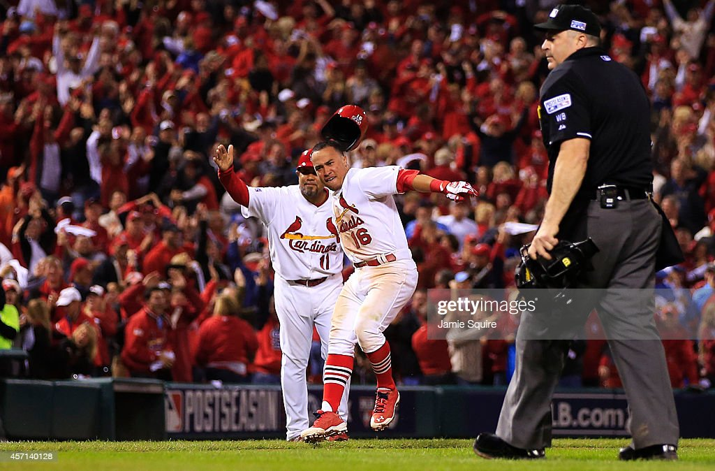 NLCS - San Francisco Giants v St Louis Cardinals - Game Two