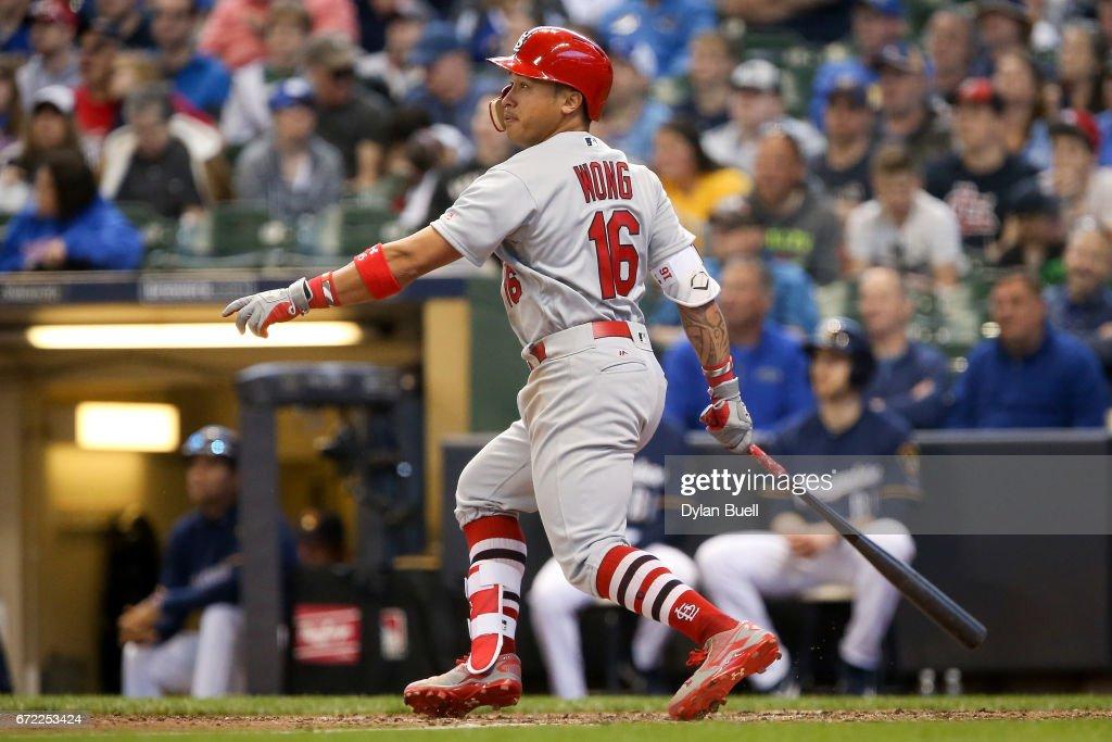 St Louis Cardinals v Milwaukee Brewers : Nachrichtenfoto