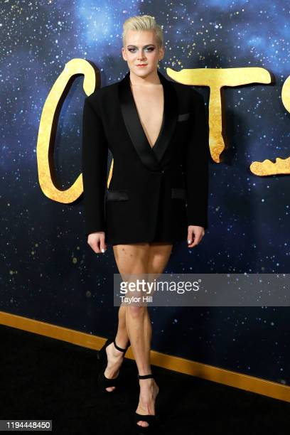 Kolton Krouse attends the world premiere of Cats at Alice Tully Hall Lincoln Center on December 16 2019 in New York City