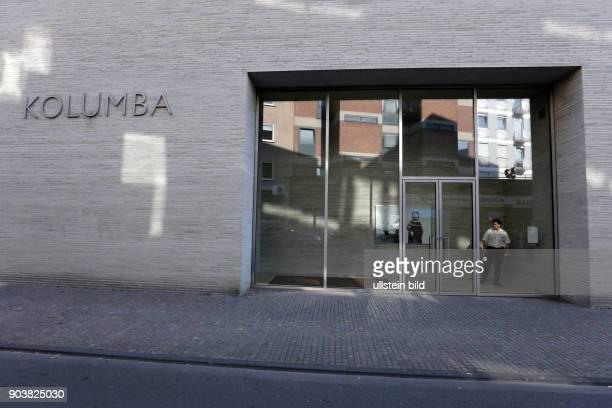Kolumba das Kunstmuseum des Erzbistums Köln Die neue Jahresausstellung 'Me in a notime state Über das Individuum' gastiert vom 15 September 2016 14...