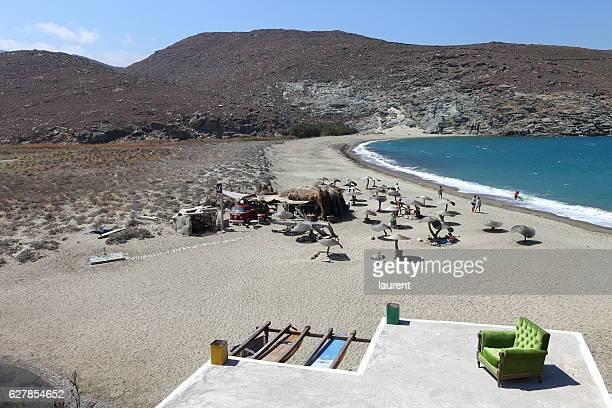 Kolympithra beach on Tinos island, Greece