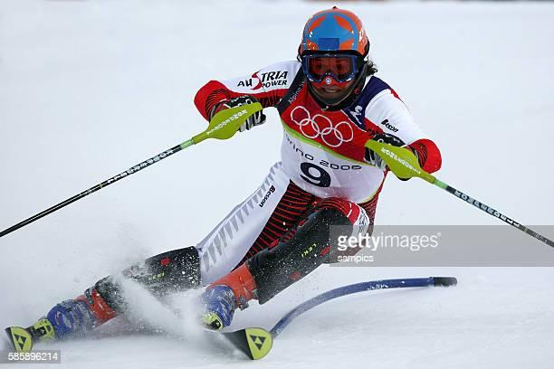 Kombinations Slalom der Mnner Bronze fr Rainer Schoenfelder Schnfelder AUT Ski Alpin Skiing Slalom Combination 14 2 2006 olympische Winterspiele in...