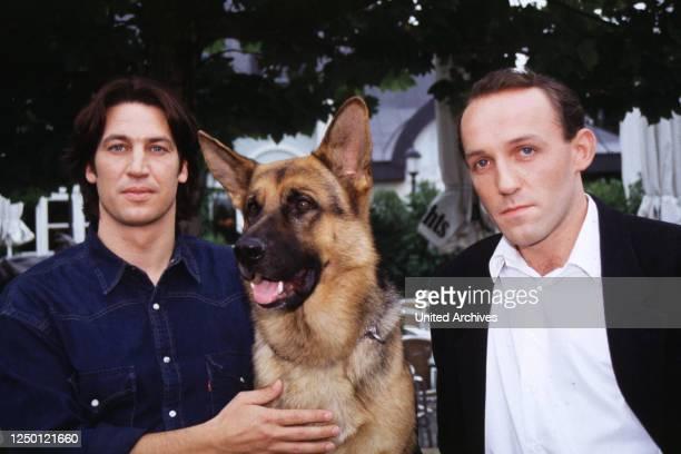 Kommissar Rex, D 1994, TOBIAS MORETTI, KARL MARKOVICS, Stichwort: Hund, Schäferhund.