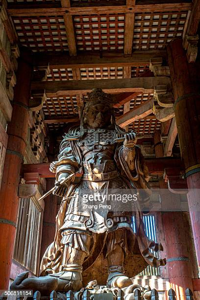 Komokuten one of the pair of guardians in the Daibutsuden Tdaiji is a Buddhist temple complex that was once one of the powerful Seven Great Temples...