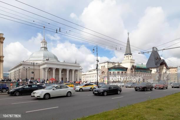 Komsomolskaya metro station & Moscow Yaroslavsky railway station