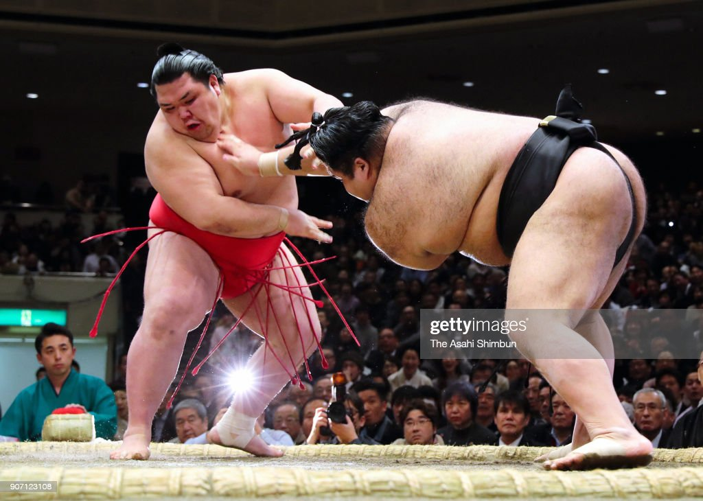 Grand Sumo New Year Tournament - Day 6