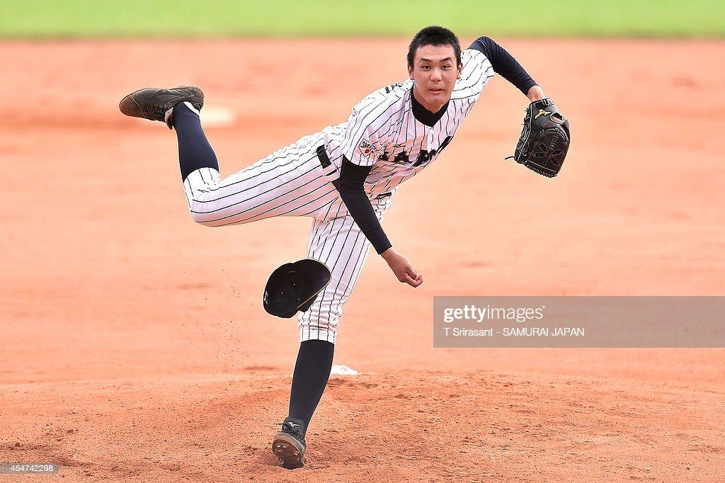 Japan v Chinese Taipei - BFA 18U Championship Semi-Final : ニュース写真