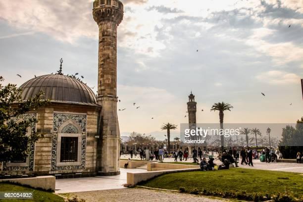 Konak Square in Izmir, Turkey