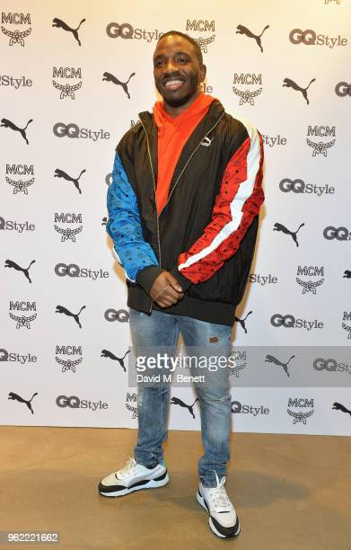 Konan attends PUMA x MCM Collaboration London Launch Party in partnership with British GQ Style on May 24 2018 in London England