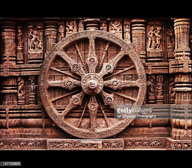 konark sun temple - odisha - fotografias e filmes do acervo