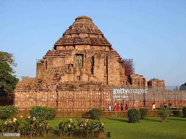 konark - the sun temple - odisha - fotografias e filmes do acervo