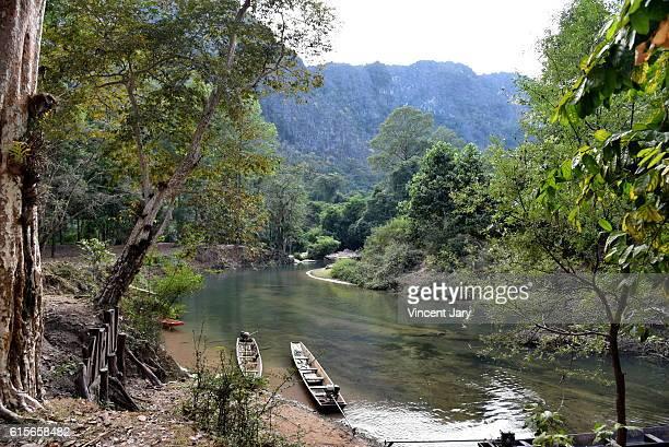konglor river Laos