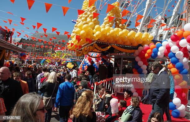 koningsdag イベントには、 - オランダ 王の日 ストックフォトと画像