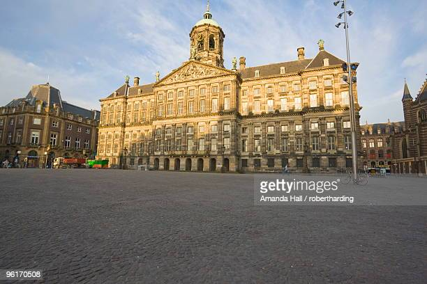 Koninklijk Paleis, built as the town hall in the 17th century, Dam Square, Amsterdam, Netherlands, Europe
