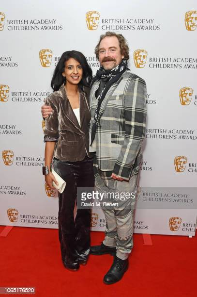 Konnie Huq and Rufus Hound attend The British Academy Children's Awards 2018 at The Roundhouse on November 25 2018 in London England