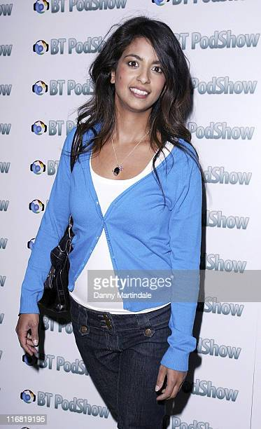 Konnie Huq attends the BT Pod show Launch Party at Shoreditch House on May 13 2008 in London England