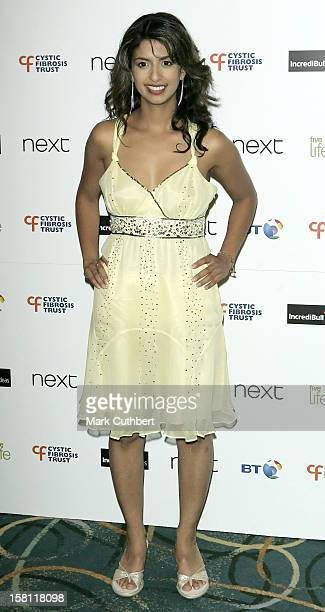 Konnie Huq Attends The Cystic Fibrosis Trust 'Breathing Life Awards' In London