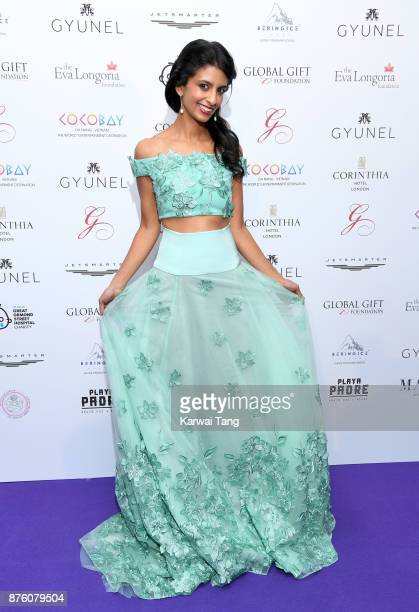 Konnie Huq attends The Global Gift gala held at the Corinthia Hotel on November 18 2017 in London England