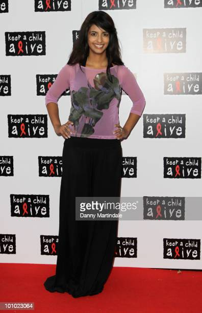 Konnie Huq attends the Keep A Child Alive Black Ball fundraiser on May 27 2010 in London England